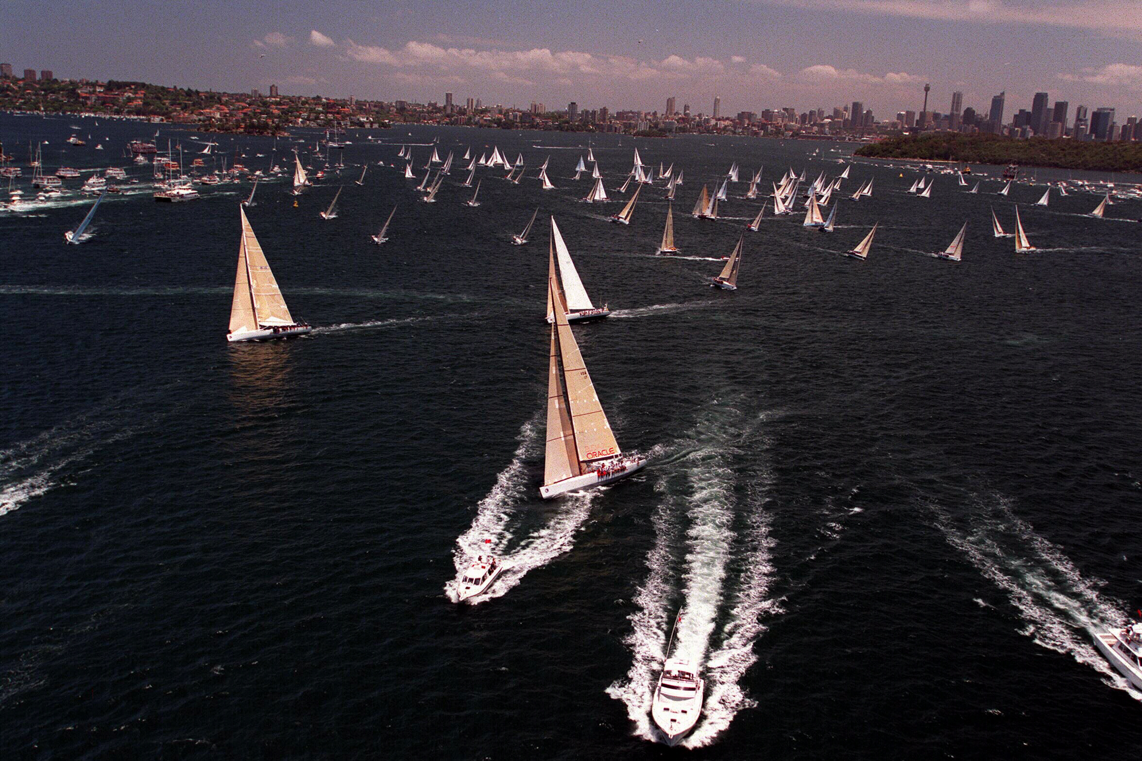 Start of Sydney Hobart race (1)